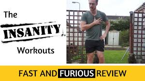 insanity fast and furious review 20 minute workout