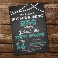 housewarming cards to print chalkboard housewarming bbq invitation housewarming party