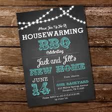 housewarming cards to print chalkboard housewarming bbq invitation housewarming party
