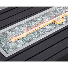 gas fire pit outdoor propane fireplace patio backyard heater carter hills 57