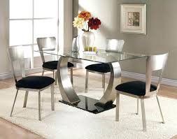 round glass dining table set for 4 room sets chairs casual italian