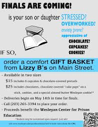 basket by adding balloons gift cards or extra goos when you order please leave your child s cell phone number to help with delivery