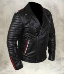 details about rockstar leather jacket designed for men 100 genuine leather mj series 01