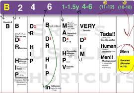 Baby Immunization Chart Usa Mnemonic For Pediatric Immunizations Time Of Care