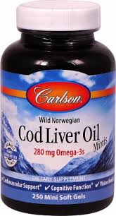 Carlson Wild Norwegian Cod Liver Oil Minis Mini Soft ... - Food 4 Less