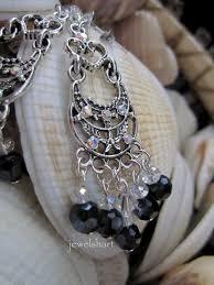 long black crystal chandelier earrings images of