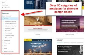 Wix Website Templates Inspiration Wix Templates Review How To Make Your Website Look Good