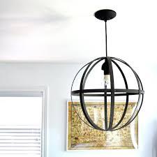 orb light chandelier orb light marais 6 light orb chandelier