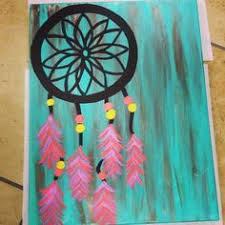 Ideas For Making Dream Catchers easy acrylic painting ideas for beginners on canvas Google 73