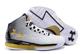 under armour basketball shoes stephen curry white. men\u0027s under armour basketball shoes - ua stephen curry one mid white /black/gold h