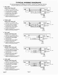 Emergency Lighting Wiring Instructions Fluorescent Emergency Ballast Wiring Diagram Wiring Diagram