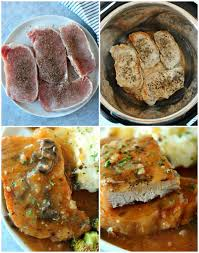 instant pot pork chops crunchy creamy