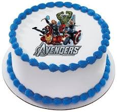 Amazoncom The Avengers Marvel Super Heroes Personalized Edible