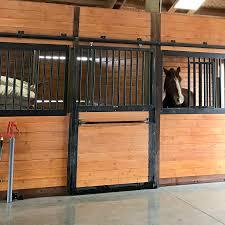 Steel Horse Stall Door - Barn Pros