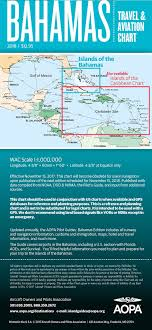 Aopa Charts Color Wac Scale Vfr Chart For The Bahamas