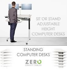 standing computer desk modern ergonomic design office furniture adjule height computer desks sit or stand