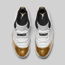 jordan shoes 11 white gold. air jordan 11 retro low white gold black shoes