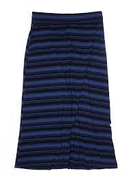 0x Plus Size Chart Details About Ava Viv Women Blue Casual Skirt 0x Plus