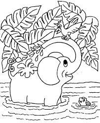 Small Picture sleeping elephant coloring sheets Google Search Elephant