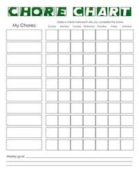 chore chart template for teenagers chore chart on pinterest chore charts printable chore