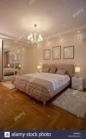 Lights For Apartment Bedroom Epmty Minimalistic Interior Background Bedroom Of Modern