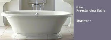 stylish acrylic tub with bathtubs whirlpool tubs soaking inspirations kohler bathtub cleaning