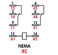 item 782xbxm4l 24d 782 ice cube relays dpdt 15 amp rating on 782 full feature wiring diagram