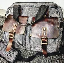 wilsons leather messenger bag a the