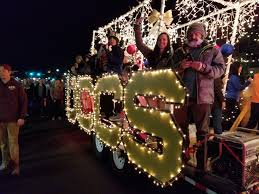The Parade Of Lights Colorado Springs Photo Feature Festival Of Lights Uccs Communique