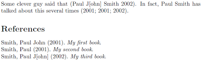 Make Biblatex Treat Different Author Names As Same Author In