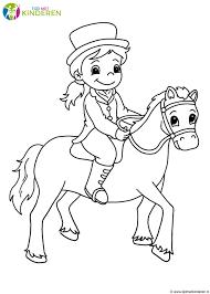 Kleurplaat K3 Met Paarden