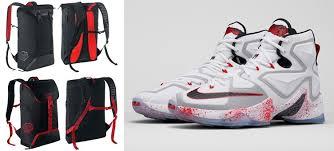lebron bag. nike lebron backpacks to match the 13 \u201chorror flick\u201d lebron bag c