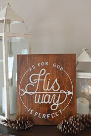 Small Picture As for God His way is perfect Psalm 1830 Scripture lettering