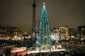 London's Christmas tree was lit last night to great fanfare in Trafalgar  Square. Did you know that the tree is a gift from Norway every year?
