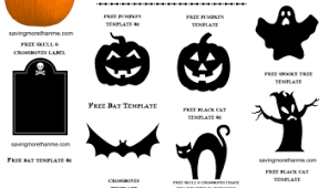 Free Printable Pumpkin Stencils + Halloween Printables
