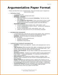 format of argumentative essay college research paper format  format of argumentative essay 8 format for argumentative essay format writing persuasive essay