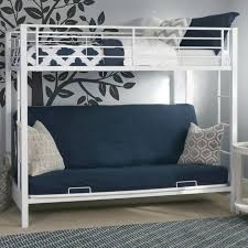 Sunrise Twin over Futon Bunk Bed  White  Bunk Beds u0026 Loft Beds at  Hayneedle
