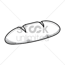 loaf of bread drawing. Perfect Drawing Bread Loaf Vector Graphic Inside Loaf Of Bread Drawing T