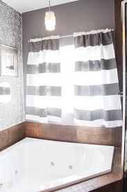 how to paint curtains grey bathroom window amazing corner