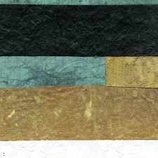 Behang Elitis Marikina Turquoise Bruin Goud Mindoro Rm91140