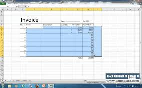 How Do You Make An Invoice How To Create Auto Invoices In Excel 24 YouTube 15