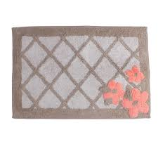 saay knight c garden fl 31 in x 21 in cotton bath rug in