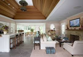 pool house interior design. Interesting Design A Vaulted Wood Ceiling Elevates The Design Of This Openplan Pool House By  Eric Throughout Pool House Interior Design