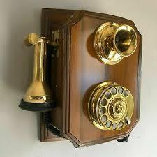 reion wooden retro telephone