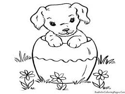 Small Picture Cute Puppy Coloring Pages Puppy Coloring Pages Cenul Free Coloring