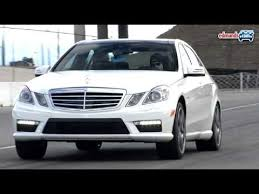 Hauling more than your family. 2010 Mercedes Benz E63 Amg Track Test Youtube