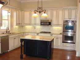 rustic white kitchen ideas.  White Charming Ideas Rustic White Kitchen Cabinets Best Distressed With  Hanging Lamps 9769 Inside