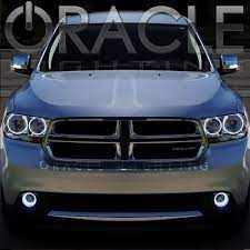 Dodge Durango With Oracle Lights Dodge Durango Dodge New Trucks