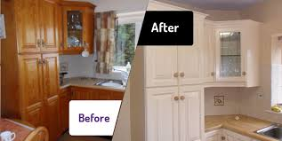 painting kitchen cupboardsSpray Painting Kitchen Cabinets And Cabinet Refinishing Spray