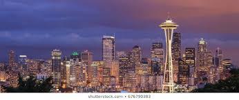 Seattle Cityscape Seattle Skyline Images Stock Photos Vectors Shutterstock